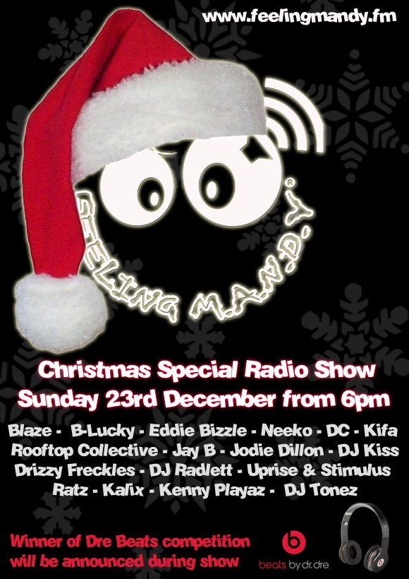 www.feelingmandy.fm 23rd December 2012